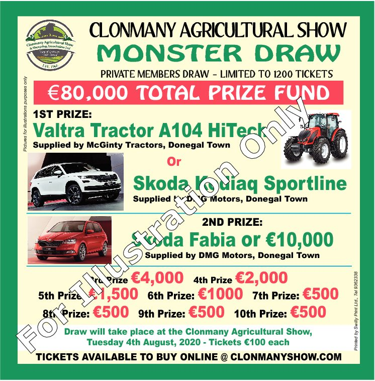 clonmany agricultural show ticket for web